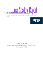 (2001) Sri Lanka NGO Shadow Report