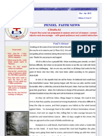Peniel Faith Newsletter-Apr2012