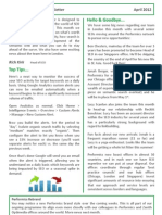 PFX SEO Newsletter April2012