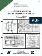 Manual Kapasitas Jalan Indonesia