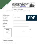 FORMULIR Dan Surat Pernyataan