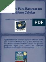 Software Para Rastrear un Teléfono Celular