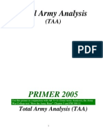 #23584 Army DOTMLPF Analysis Primer - TAA