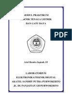 Modul Praktikum Ttl CD 2010 (Laporan)