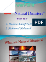 Natural Disasters Ppt