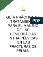 Guia Para Manejo de Hemorragias Intrapelvicas en Fx de Pelvis