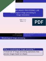 Morphology Restoration