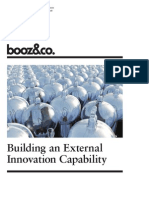 BoozCo Building External Innovation Capability