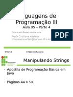 Aula 05 - Linguagem de Programacao III - Eventos - Java-Swing - Parte 4