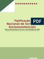Tipificacao Nacional de Servicos Socioassistenciais