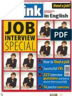 Think In English - Job Interviews