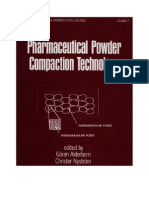 Pharmaceutical Powder Comp Action Technology Drugs and the Pharmaceutical Sc