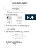 peperiksaan pertengahan tahun Biology Tingkatan 4 kertas 1