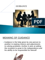Guidance and Counselling 1