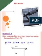 Final Mechanics Quiz Ppt 21 1 .11.09