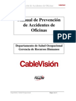 Prevencion de Accidentes de Oficinas