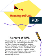 Modelling and UML
