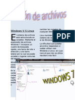 Windows v.S Linux