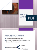 Absceso Corneal