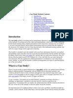 Case Study Method Contents