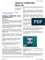Guida al Computer - Quiz di verifica N°5
