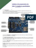 Teleinfo 2 compteurs Arduino