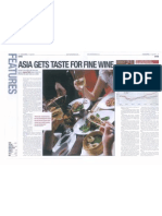 Asia Gets a Taste for Fine Wine - Investment Week - 11-04-2011