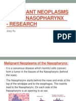 Malignant Neoplasms of the Nasopharynx