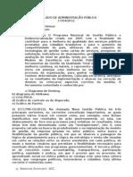 SIMULADO ADMINISTRAÇÃO PÚBLICA 2 - RAFAEL SILVESTRI SERPA HEINZE