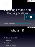 iPhone and iPad Hacking - Van Sprundel