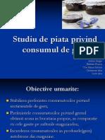 Studiu de Piata Privind Consumul de Gem