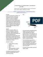 Transformación de energía cinética en  energía mecánica y  movimiento de proyectiles