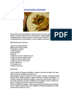 Frango com Salada de Grão de Bico à Marroquina