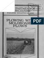 Plowing With Moldboard Plows