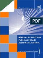 Manual Acceso a La Justicia PNUD