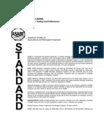 Media Filter Standards ASABE