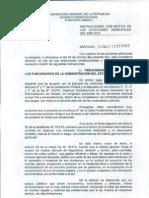 Instructivo Con Motivo de La Elecciones Municiaples 2012