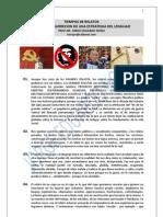 123. TIEMPO DE RELATOS + MUERTE Y RESURRECCION DE UNA ESTRATEGIA DEL LENGUAJE