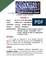CONAMI 4   (4 CONGRESO  NACIONAL MISIONERO)