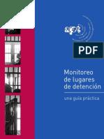 Guia de Monitoreo de Centros Penitenciarios