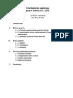 OrientacionesPastorales.2012-2014