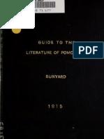 guidetoliteratur00bunyrich