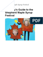 Project Hover | Family's Guide to the Shepherd Maple Syrup Festival