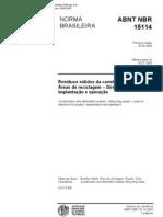 Abnt - Nbr 15114 - Residuos Solidos Na Construção Civil[1]