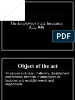 ESI Act 1948