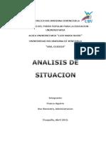 analisis de situacion