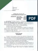 Decizie CAO - 1341-2012 - Exceptie Nelegalitate