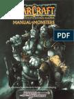 Warcraft RPG - Manual of Monsters