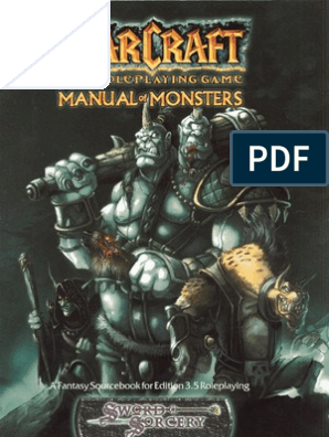 Warcraft RPG - Manual of Monsters | Races And Factions Of