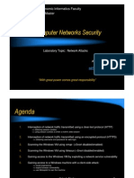 Network Attacks - Computer Networks Security Laboratory
